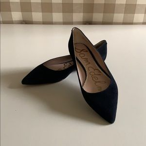 Sam Edelman Women's Black Suede Flats 9M